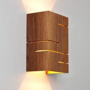 روشنایی چوبی هوگر