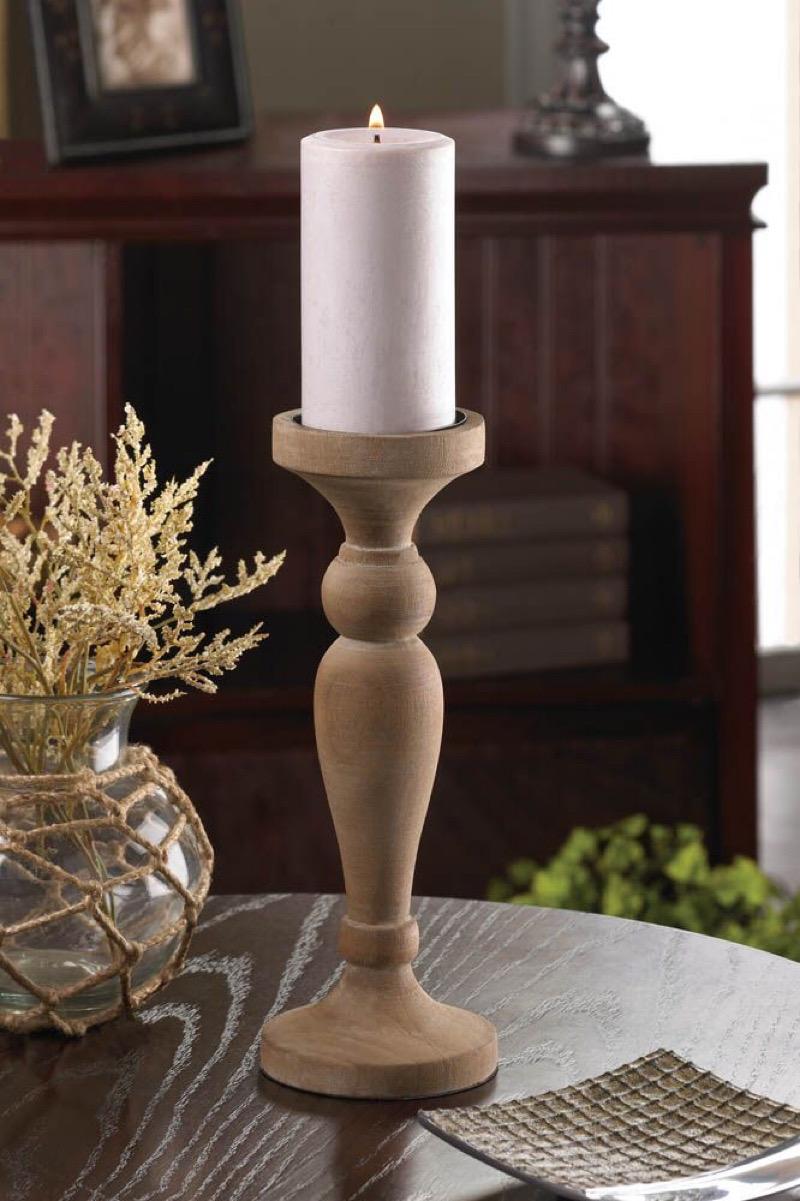 شمعدان چوبی | کد 100A