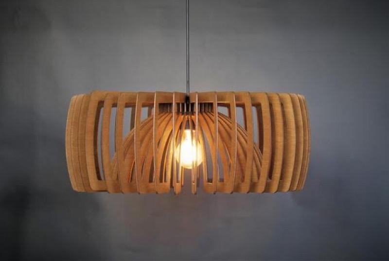لوستر چوبی | کد 105L