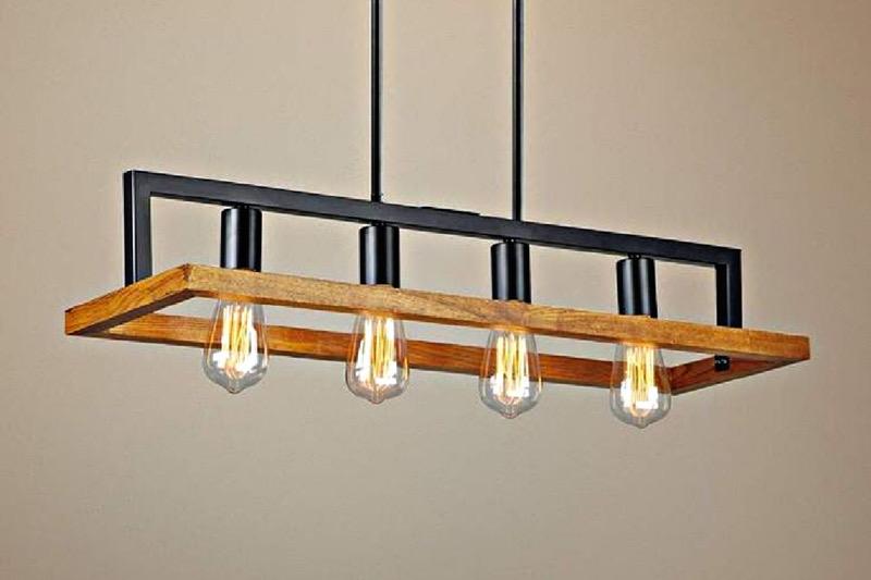 لوستر چوبی | کد 120L