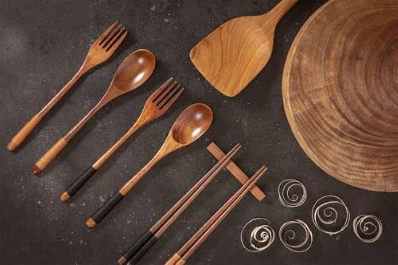روش های مراقبت از ظروف چوبی آشپزخانه