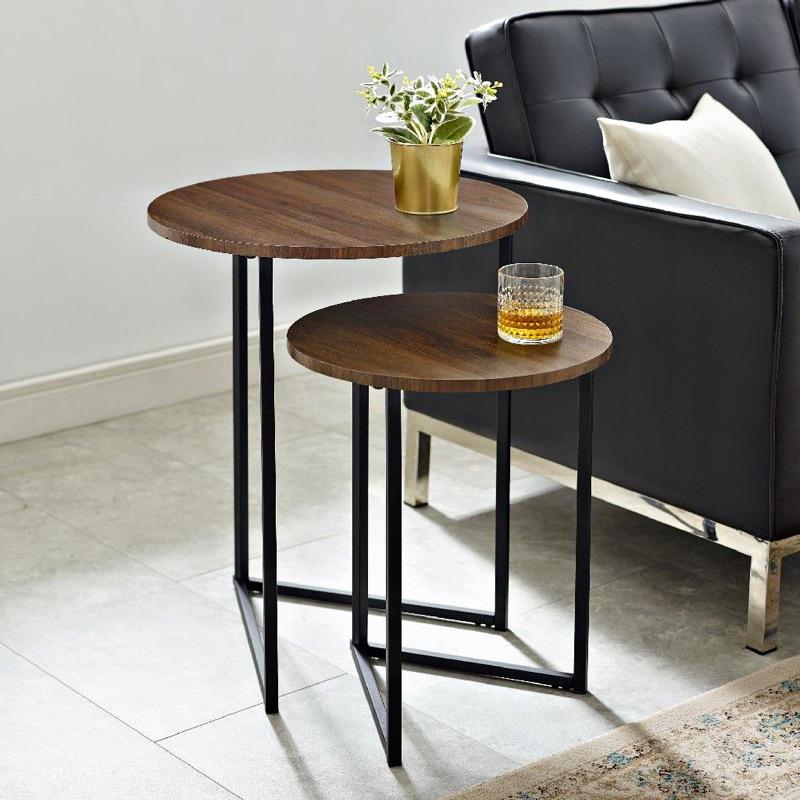 میز کنار سالنی چوبی | کد 145A