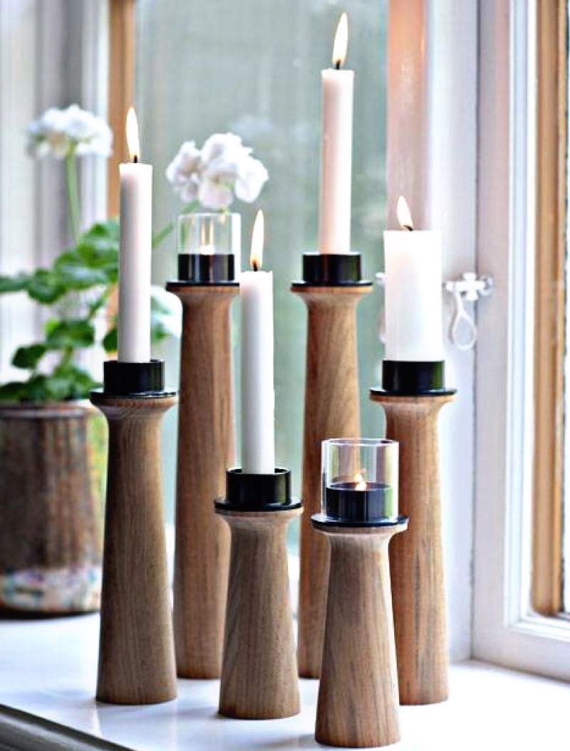 ست شمعدان چوبی | کد 155A