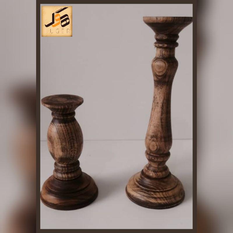 شمعدان چوبی | کد 170A