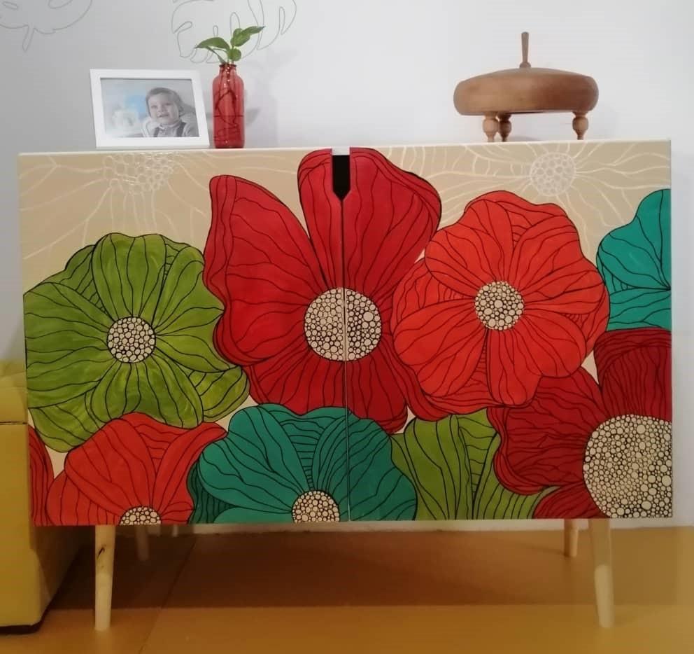 میز کنسول چوبی | کد 175A