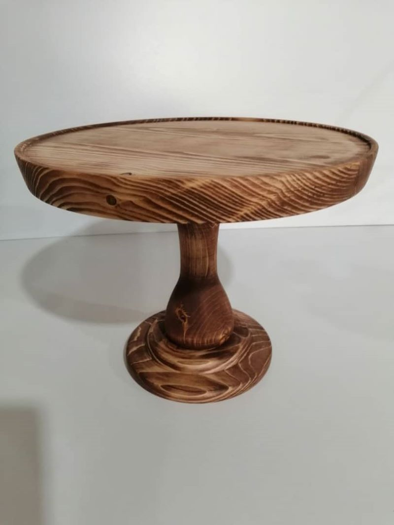 پایه کیک چوبی | کد 605D