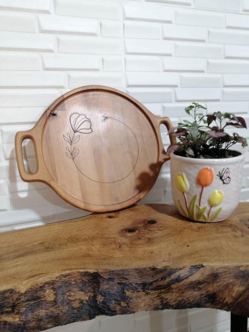 سینی چوبی | کد 625D
