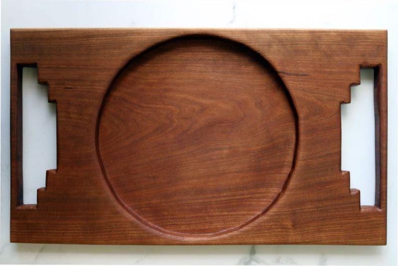 سینی چوبی | کد 720D