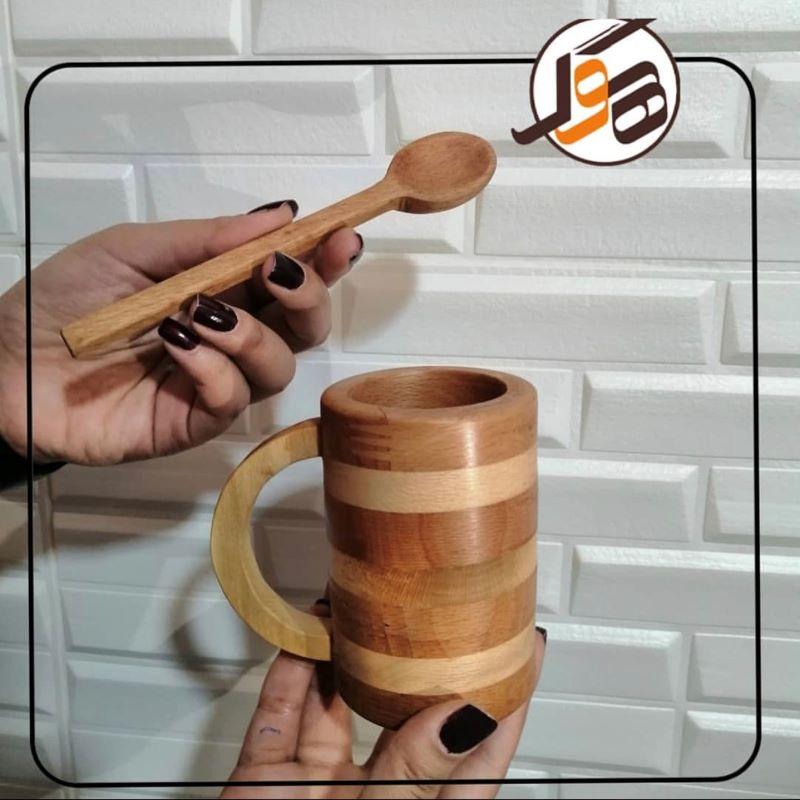 لیوان چوبی | کد 680D