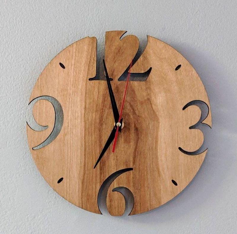ساعت چوبی | کد 215A