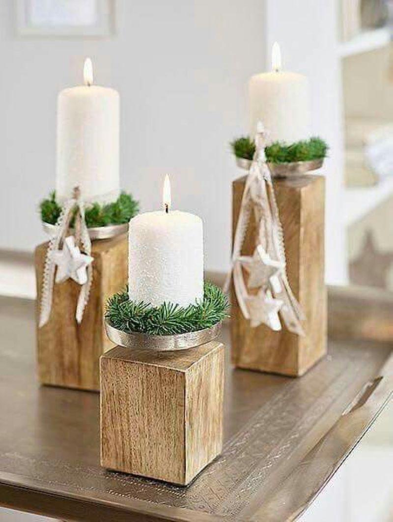 شمعدان چوبی | کد 205A