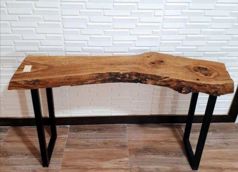 میز کنار سالنی چوبی | کد 195A