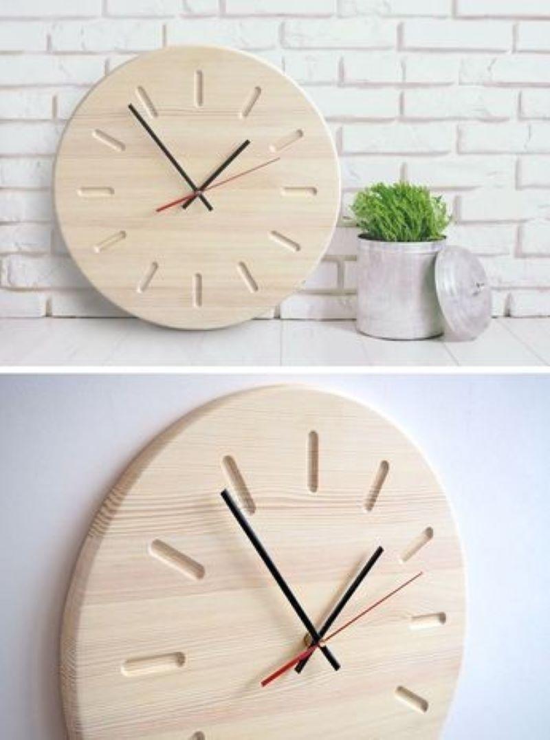 ساعت چوبی | کد 220A