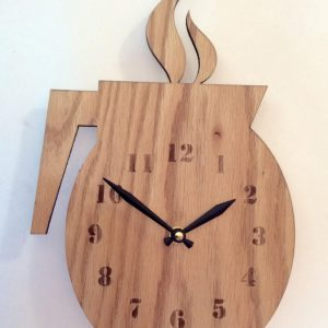 ساعت چوبی