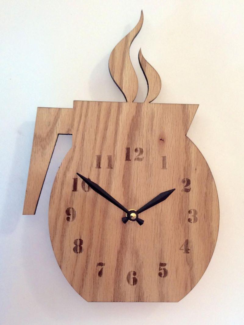 ساعت چوبی | کد 270A