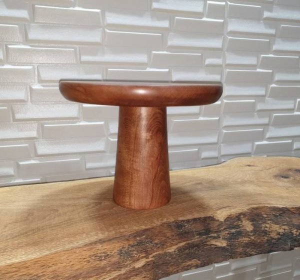 پایه کیک چوبی