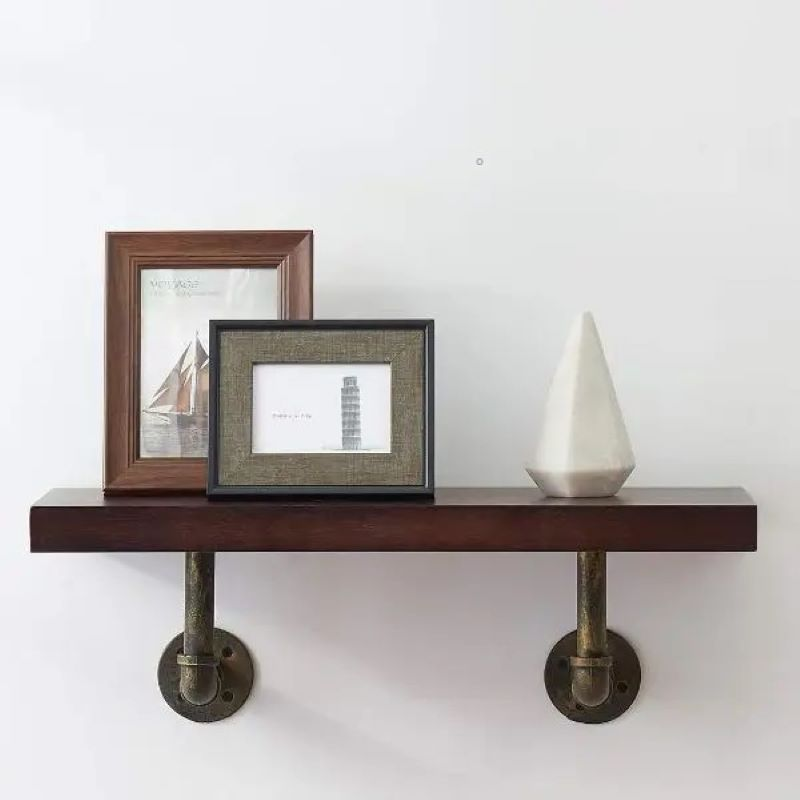 ایده های طراحی شلف چوبی در منزل