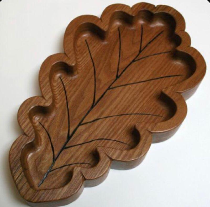 ظرف سرو چوبی | کد 995D