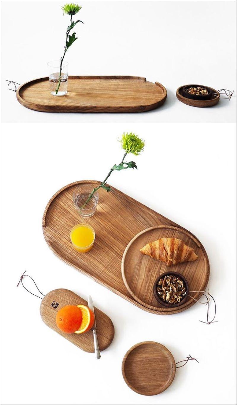 ست ظروف سرو چوبی | کد 905D