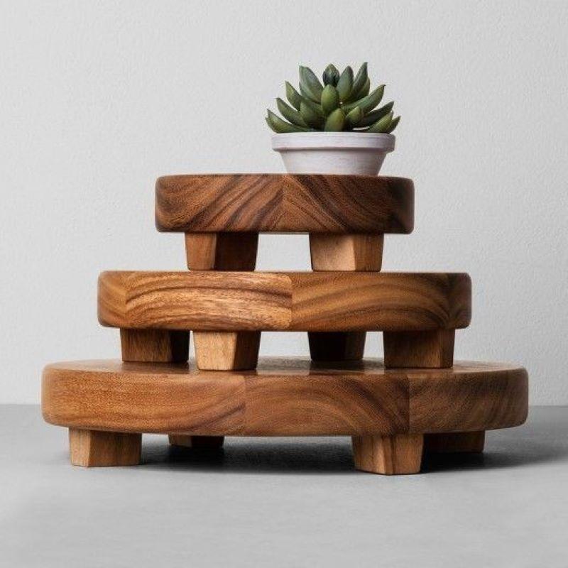 میز سرو چوبی | کد 895D