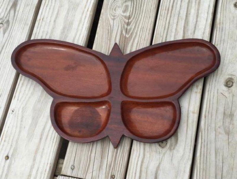 ظرف سرو چوبی | کد 1005D