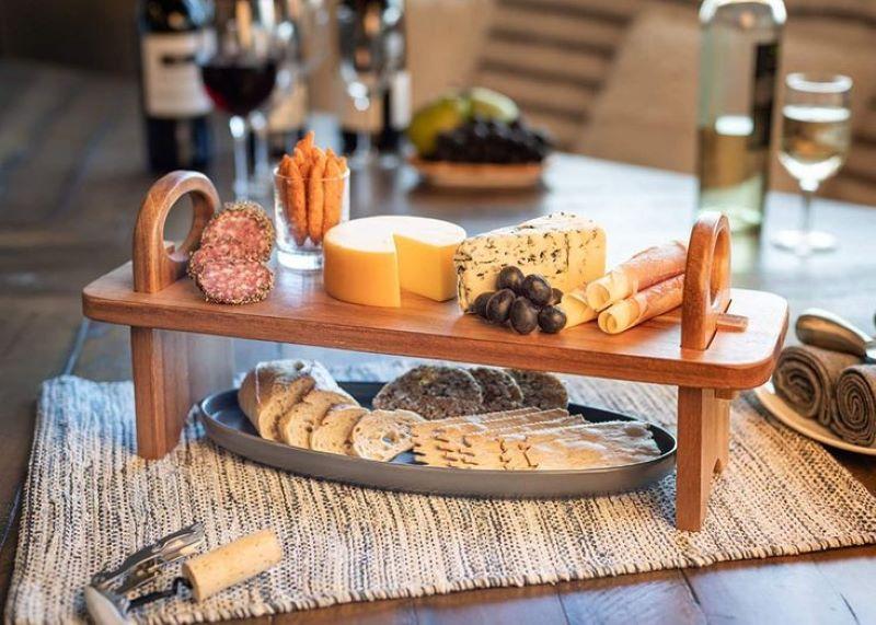 میز سرو چوبی | کد 965D