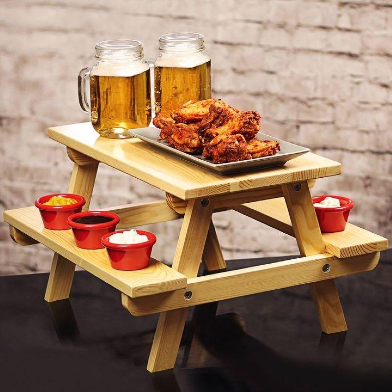 میز سرو چوبی | کد 950D