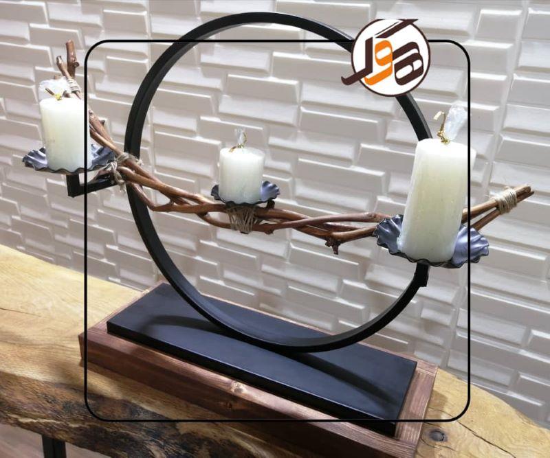 شمعدان چوبی | کد 305A