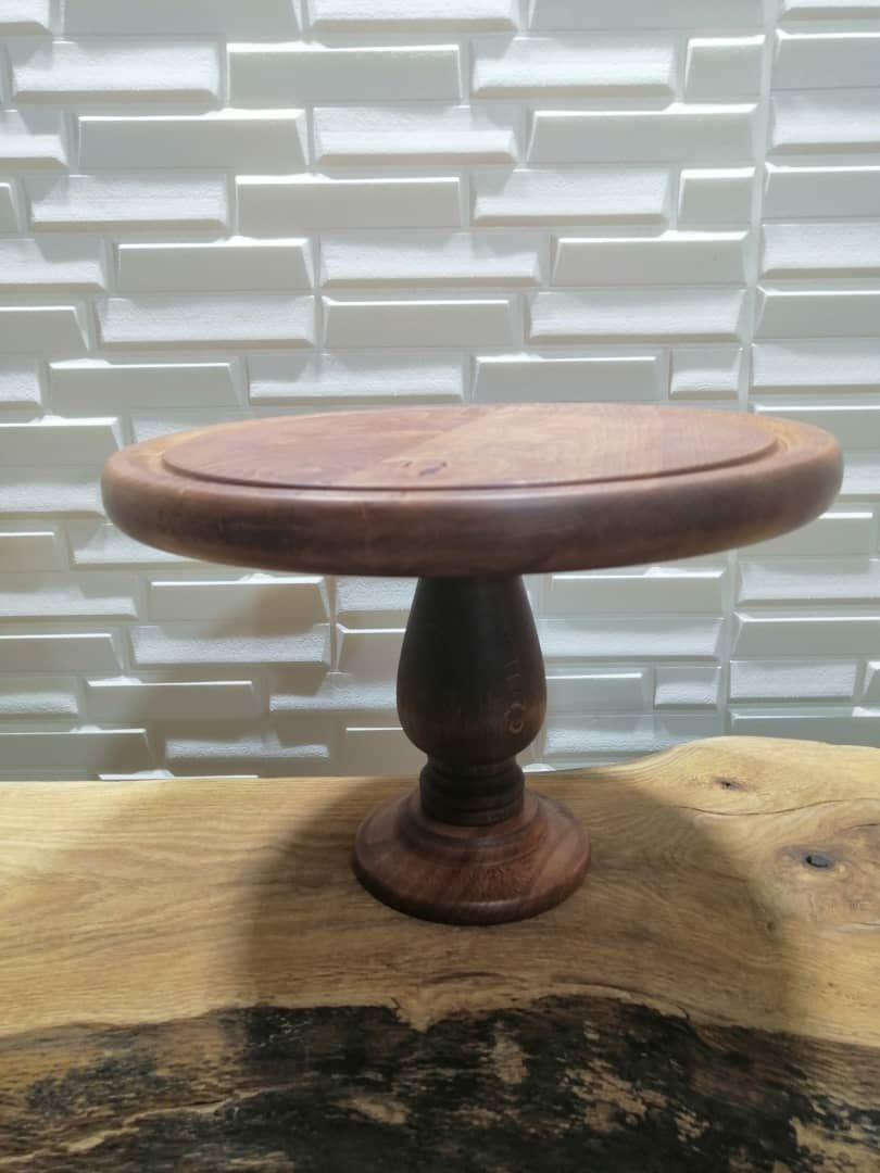 پایه کیک چوبی | کد 1075D
