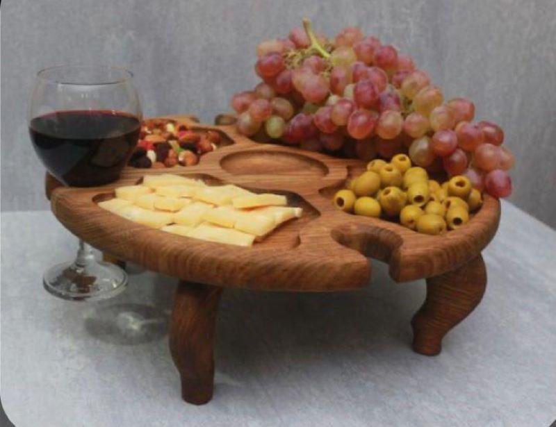 میز سرو چوبی | کد 1015D
