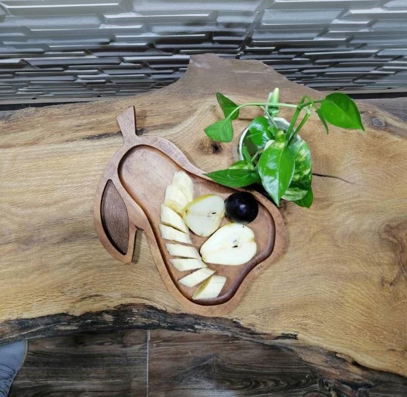 ظرف سرو چوبی | کد 1090D