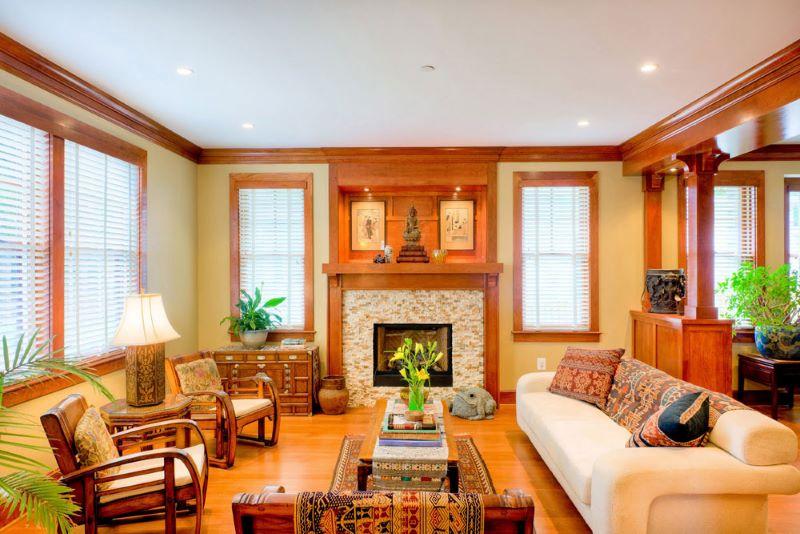ایده های استفاده از چوب در دکوراسیون منزل