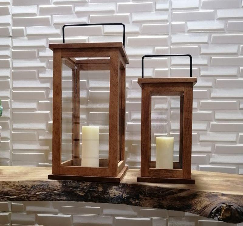 شمعدان چوبی | کد 310A