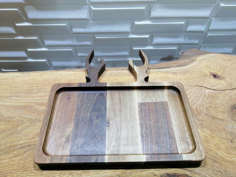 ظرف سرو چوبی | کد 1110D