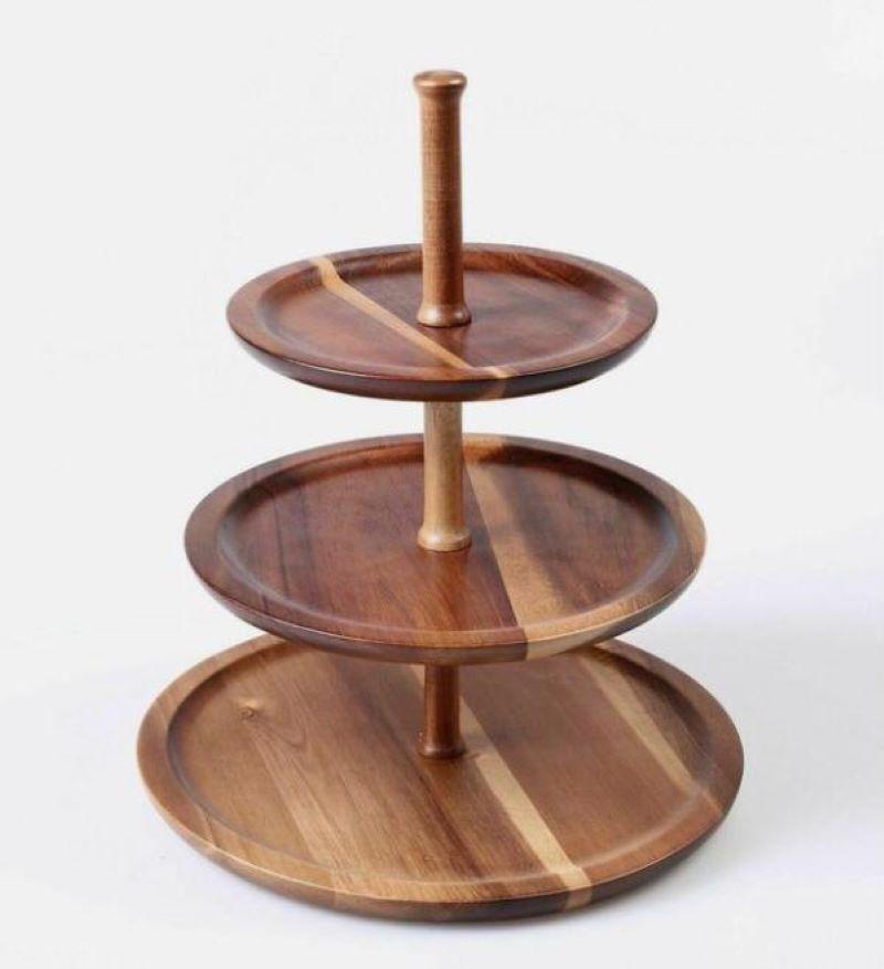 شیرینی خوری چوبی | کد 1060D